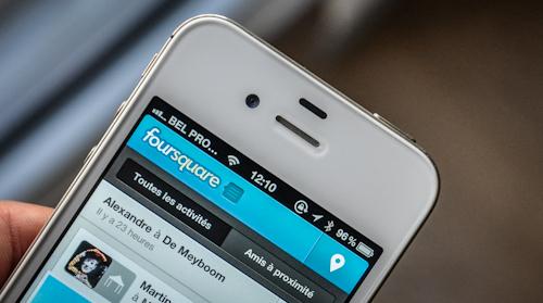 Foursquare revient aux Checks-In de proximité pour iOS et Blackberry