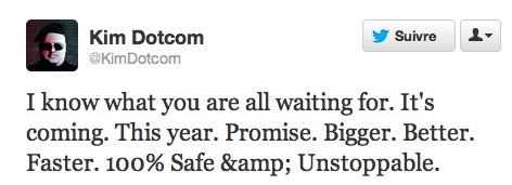 Kim Dotcom promet un Megabox explosif