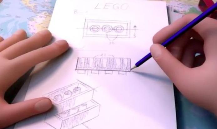 The LEGO Story - L'histoire de LEGO en 17mn d'animations ( Magnifique )