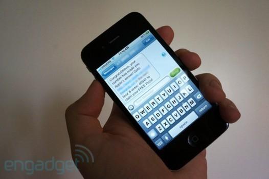 Une faille dans les SMS de votre iPhone