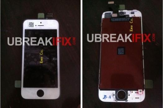 iPhone 5 - Une photo complète de la façade avant