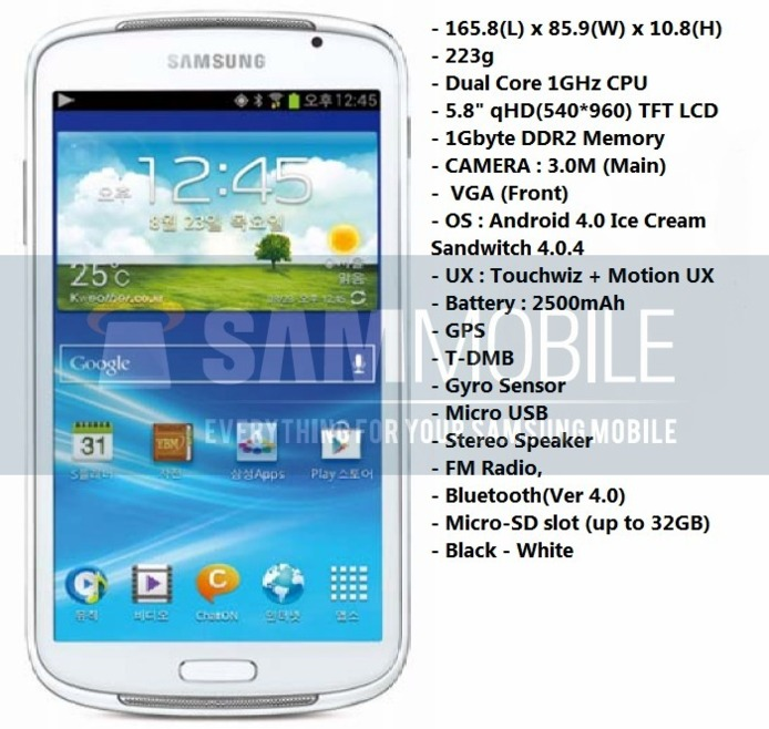 Une photo du Samsung Galaxy Player YP-GP1 ?