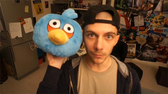 Une manette spéciale pour jouer à Angry Birds