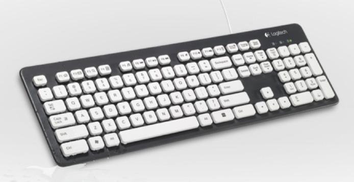 Logitech dévoile un clavier qui ne craint pas l'eau, au contraire