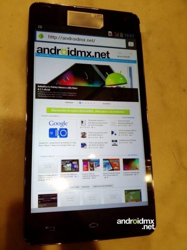 LG Optimus G (E973) - Le futur concurrent du Galaxy S3 ou de l'iPhone 5?