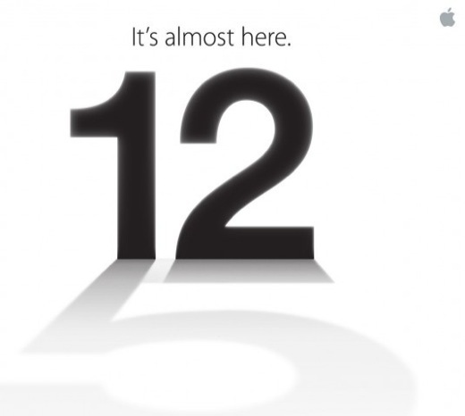 Keynote iPhone 5 - Apple confirme la date du 12 septembre
