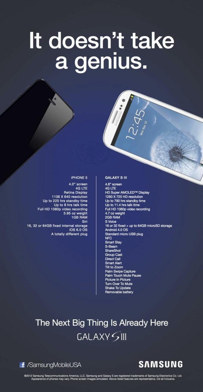 iPhone 5 vs Lumia 920 et aussi Galaxy S3