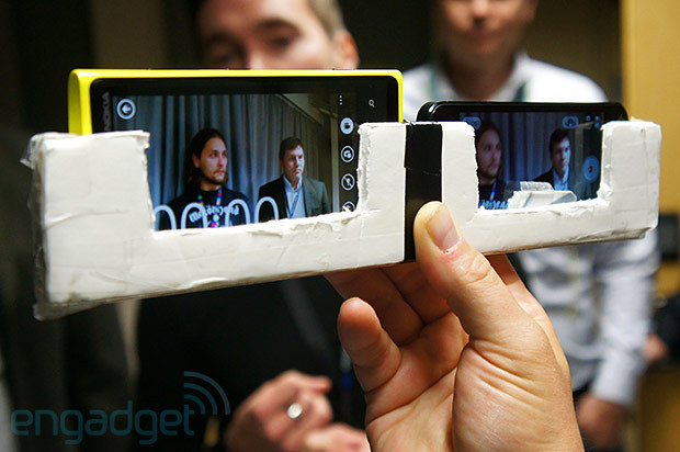 iPhone 5 vs Lumia 920 - Test de la stabilisation de l'image (vidéo)