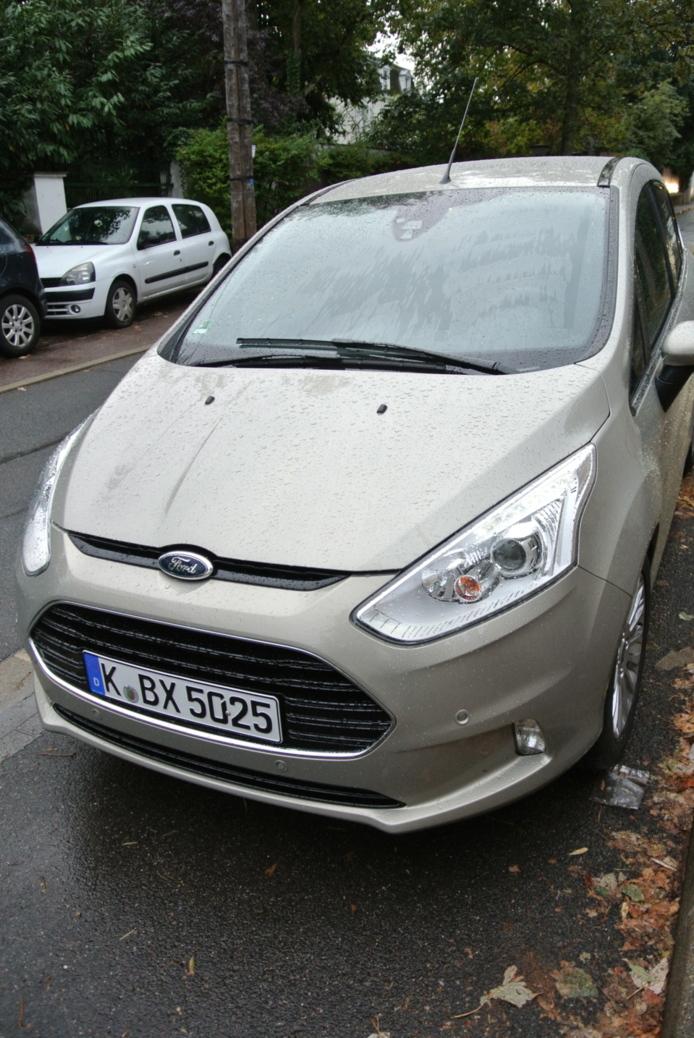 Essai - Ford B-Max avec Sync