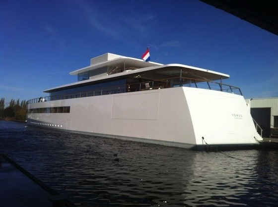 Le yacht de Steve Jobs dessiné par Starck (vidéo)