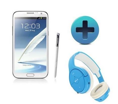 (bon plan) Un Samsung Galaxy Note 2 + 1 casque Beewi sans fil pour 488 €