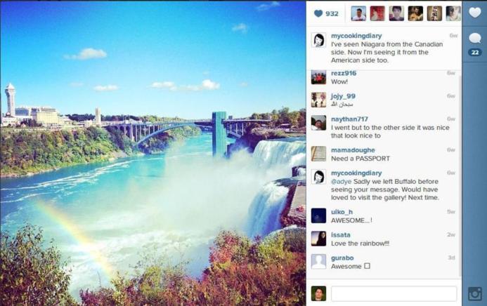 Instagram lance une version web ( page profil )