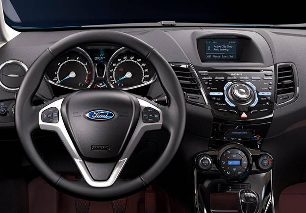Ford équipe sa Fiesta du freinage automatique Active City Stop