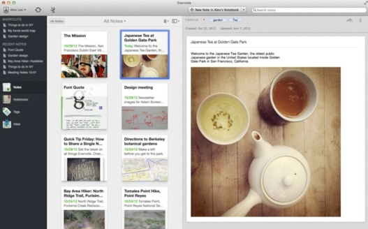 Evernote pour Mac arrive en version 5.0 avec 100 nouveauts