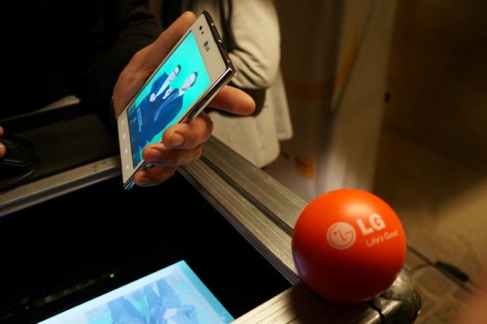 Soirée LG Mobile - Nexus 4, Optimus L9, VU