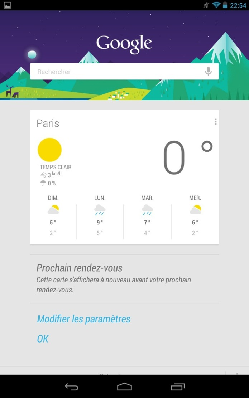 Nexus 7 - Le test