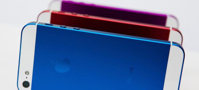 iPhone 5S - De la couleurs et 2 tailles d'écrans