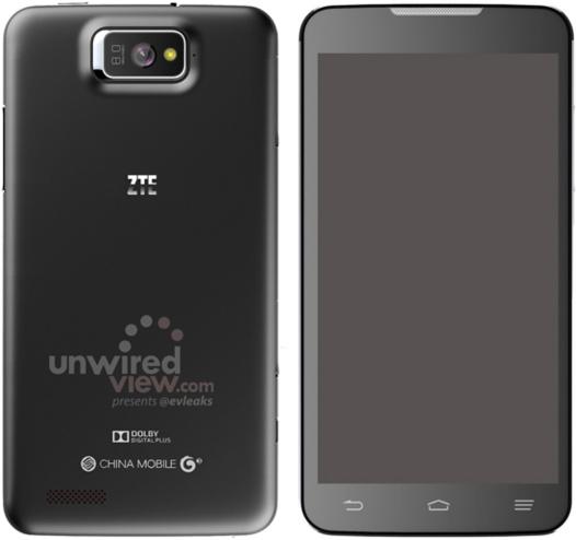 ZTE - un mobile avec un écran de 5.7 p (photo)