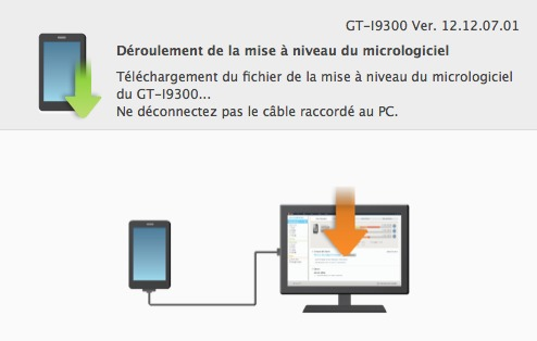 Faites la mise  jour de votre Galaxy S3