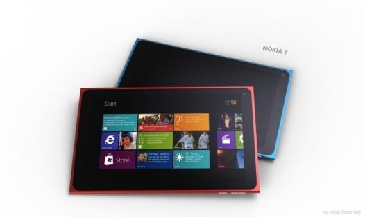 Concept de Lumia Tab
