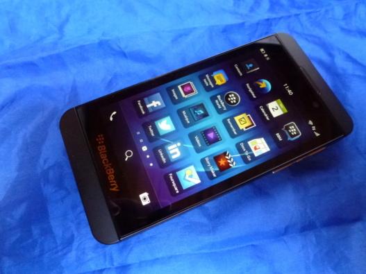 Faire un screenshot avec un Blackberry Z10 sous Blackberry 10