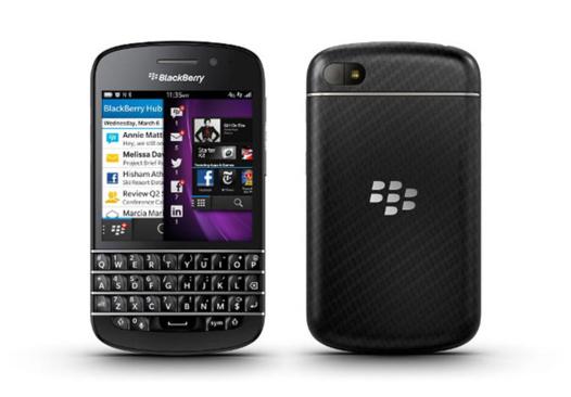 Blackberry Q10 - En France en Avril 2013