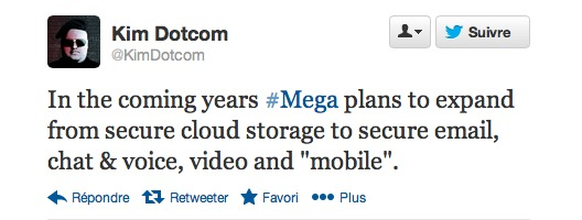 MEGA - Kim Dotcom veut sécuriser nos mails, chat, voix, vidéo et mobiles