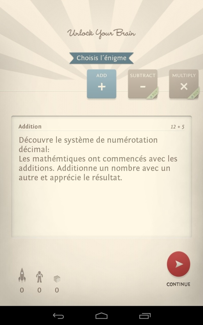 UnlockYourBrain - L'application mobile qui stimule le cerveau