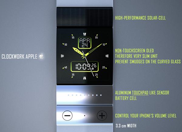 Montre Apple iWatch - Un magnifique concept