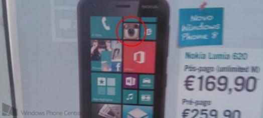Instagram bientôt sur les Nokia Lumia