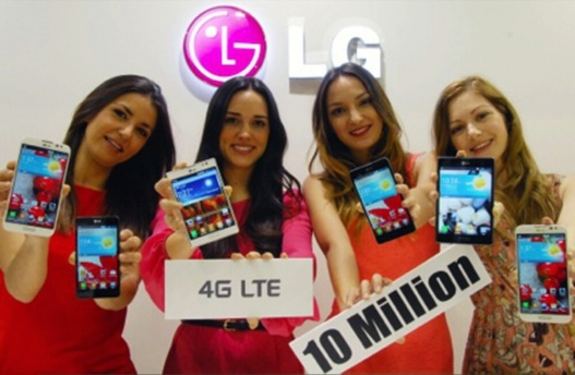 LG - Déjà 10 millions de Smartphones LTE