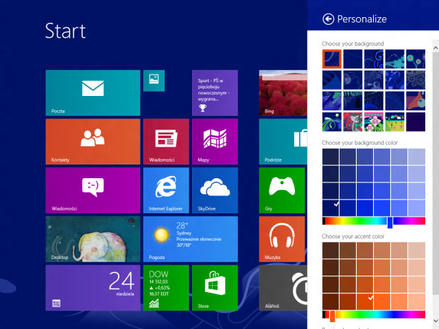 Plus d'infos sur Windows Blue