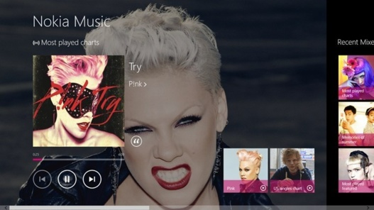 L'application Nokia Music debarque sur Windows 8 et Windows RT...