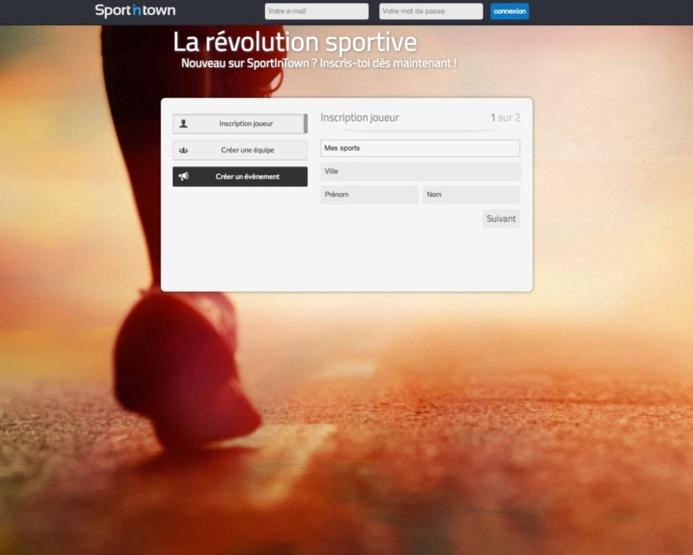 SportinTown - Un nouveau réseau social sportif
