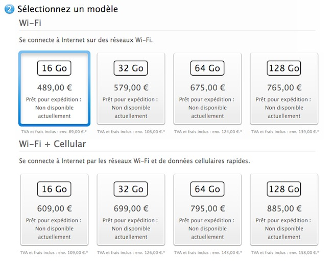 Apple annonce l'iPad Air, une tablette Ovni