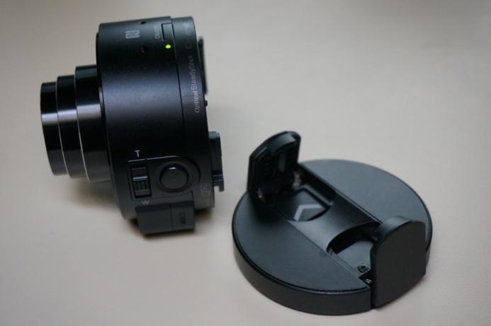 Sony QX10 - Prise en main