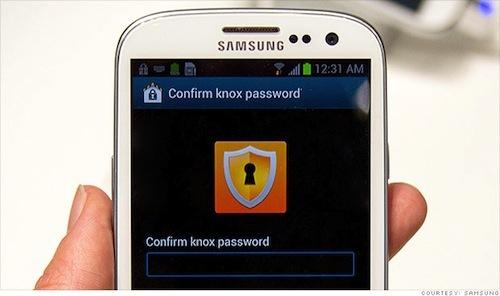 Orange Business - Test de Samung Knox sur Samsung Galaxy Note 3