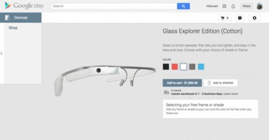 Un lancement grand public des Google Glass pour 2015 ?
