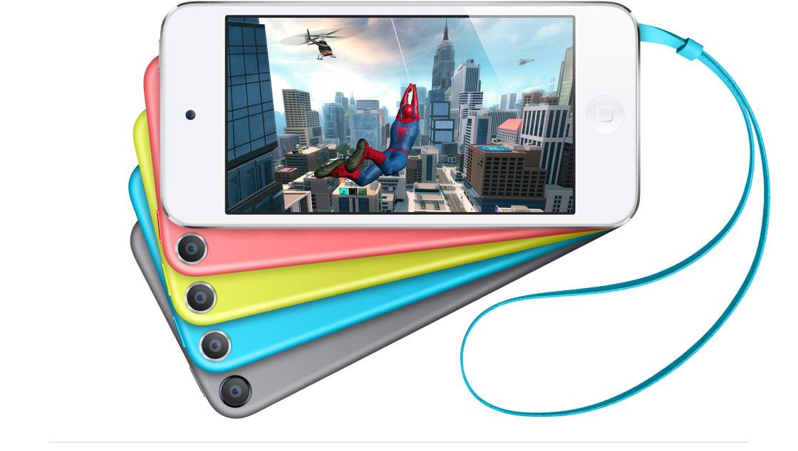 Apple met à jour l'iPod Touch 5G 16Go et en profite pour baisser le prix de toute la gamme