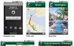 Google Maps Navigation sur Android - le GPS Google est arrivé