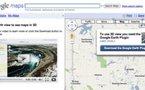 Google Earth débarque sur Google Maps