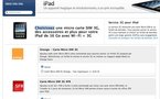 Les Micro Sim Orange et SFR sur l'Apple Store avec l'iPad 3G