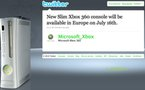 Xbox 360 Slim en France le 16 juillet 2010