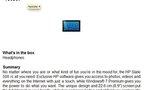 La HP Slate sous Windows 7 refait surface