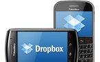 Une version BlackBerry pour DropBox