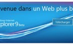Internet Explorer 9 - Lancement en direct Live dès 20h