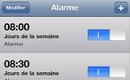 iPhone - Attention aux alarmes - Bug du changement d'heure