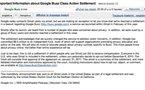 Google - Mail reçu par tous les utilisateurs de Gmail à propos de Google Buzz