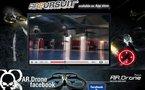 LeWeb'10 - Henri Seydoux CEO de Parrot annonce la disponibilité de AR.Pursuit