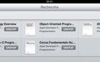 Apple offre des eBooks sur le développement iOS via l'iBookstore
